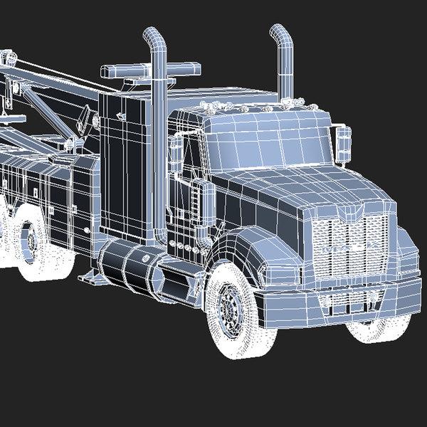 3d 3ds Heavy Duty Tow Truck