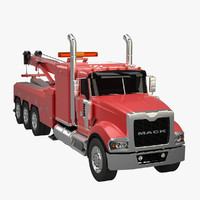 3d 3ds heavy duty tow truck