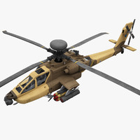 3ds max helicopter ah-64 apache