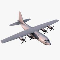 maya realistic c-130 hercules
