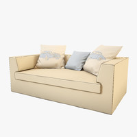 3d cloth sofa model
