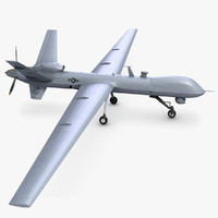 Unmanned Combat Air Vehicle MQ 9 Reaper