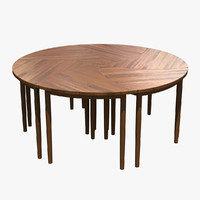 Pinwheel Table
