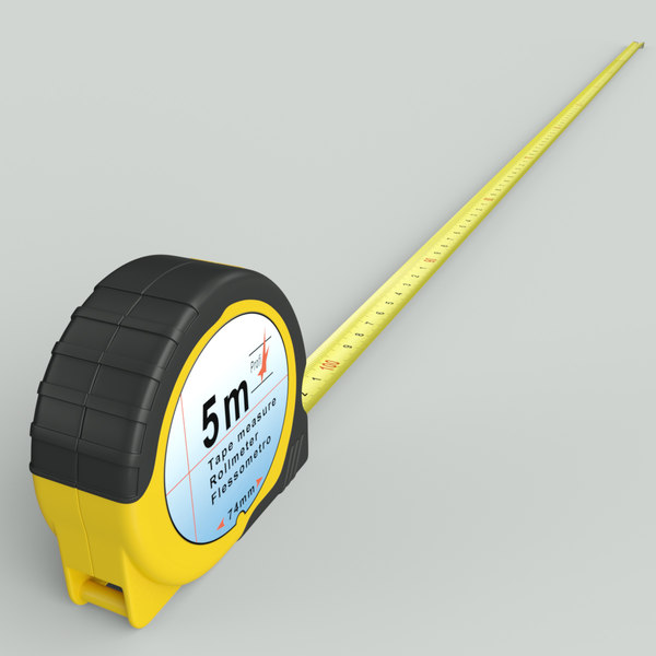 iray measure tape 3d max - Tape Measure... by 3DConstruct