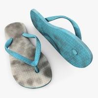 3d c4d flip-flops havaianas brazil