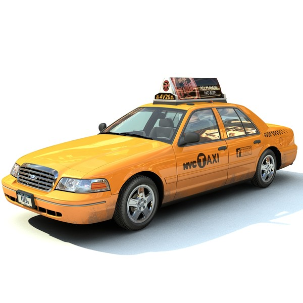 new york taxi c4d - New York Taxi... by FraP