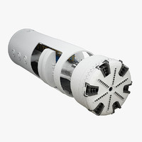 tunnel boring machine 3D models
