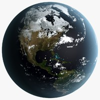 3d earth season planet