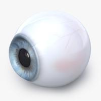 c4d realistic human eye
