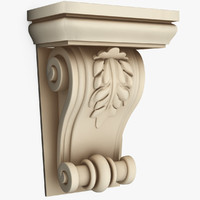 3d classical decoration interior