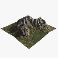 mountain 3D models