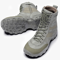 male hunter boots 3d model