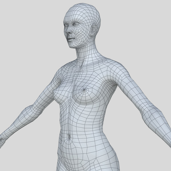 woman body c4d - Woman Body... by FraP
