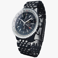 Breitling Navitimer World-virtual 3d model