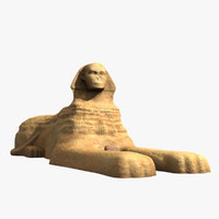 great sphinx 3d max