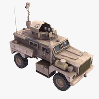 cougar h 4x4 mrap 3d dwg