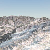 Afghan Landscape 16x16Km