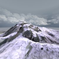 Snowy Mountain Animated