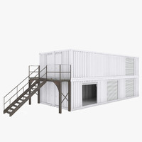 container shop 3d 3ds