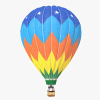 Realistic Hot Air Balloon