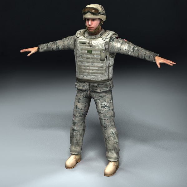 Army Soldier LW