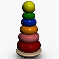 3d stacking toy