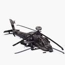 helicopter crash 3D models