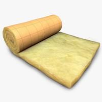 3d insulation model