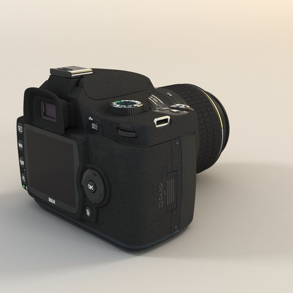 3d dslr camera lens model - DSLR Photo Camera... by 3DMart Renat Mansurov