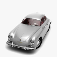 3d complete porsche 356 car