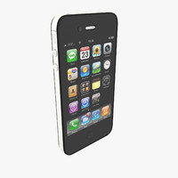 apple iphone 4s 3d obj
