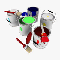 paint brushes 3d max