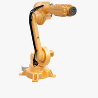 industrial robot 3d model