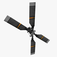helicopter tail rotor 3ds