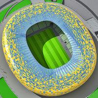 Soccer Stadium PGE Arena