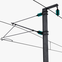 3d power pole