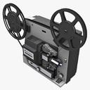 film projector 3D models