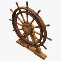 maya ship wheel 2