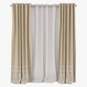 curtain 3D models