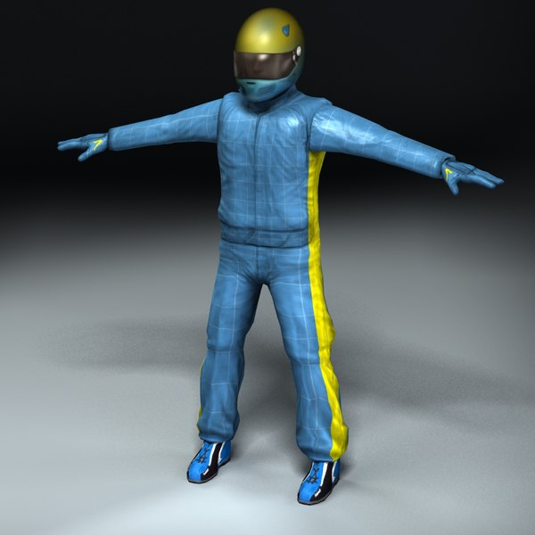 maya racing driver