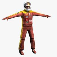 3d racing driver details