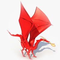 3d model dragon colossus