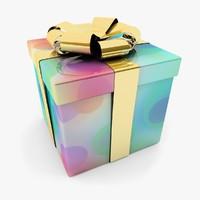 gift box c4d