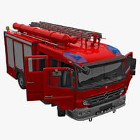 Mercedes Atego Fire Truck
