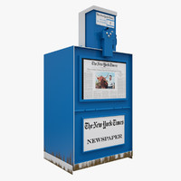 New York Newspaper Machine