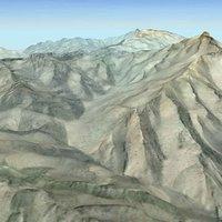 Terrain Landscape Afghanistan