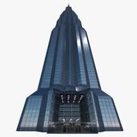3d skyscraper hdri