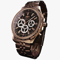 Breitling Barnato Gold-virtual 3d model