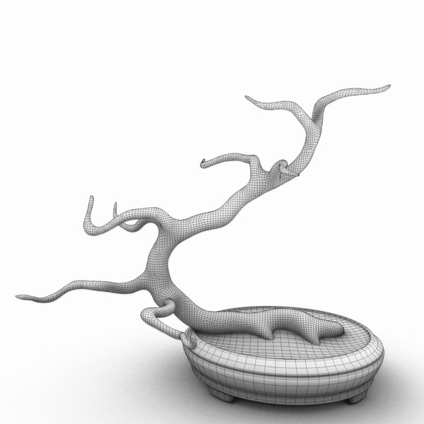 bonsai tree c4d - Bonsai... by dddrawww