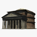 Pantheon 3D models